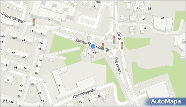 Sosnowiec, Plac Zillingera Waldemara, 2B, mapa Sosnowca
