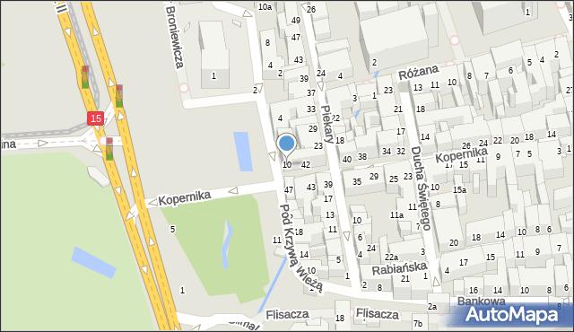 Toruń, Plac Rapackiego Mariana, 10, mapa Torunia