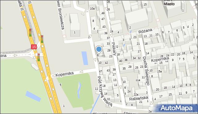 Toruń, Plac Rapackiego Mariana, 8, mapa Torunia