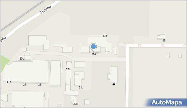 Toruń, Płaska, 25a, mapa Torunia