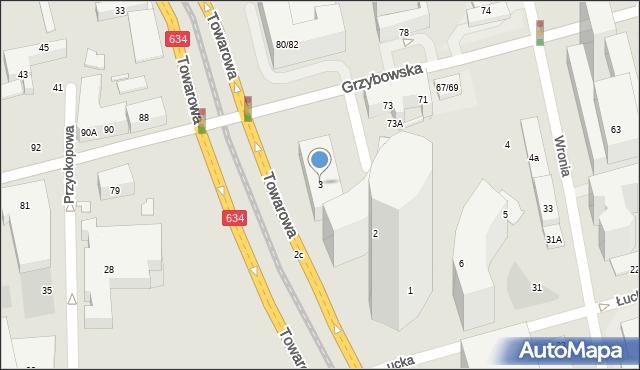 Warszawa, Plac Europejski, 3, mapa Warszawy