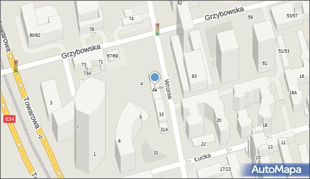 Warszawa, Plac Europejski, 4a, mapa Warszawy