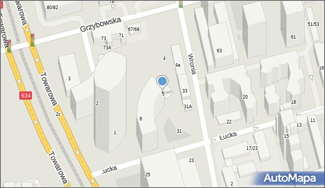 Warszawa, Plac Europejski, 5, mapa Warszawy