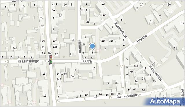 Zabrze, Plac Krakowski, 1, mapa Zabrza