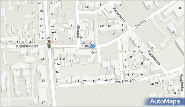 Zabrze, Plac Krakowski, 10, mapa Zabrza