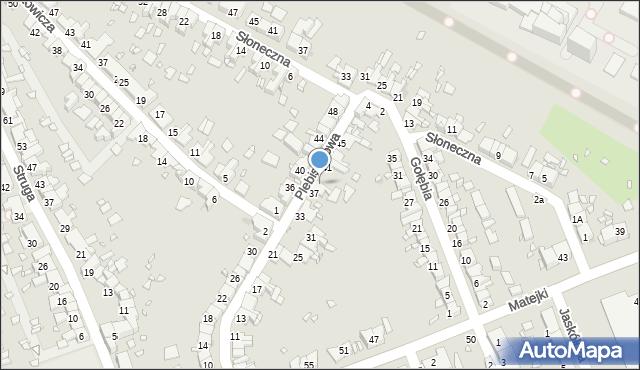 Zabrze, Plebiscytowa, 39, mapa Zabrza
