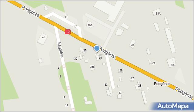 Chełm, Podgórze, 35A, mapa Chełma