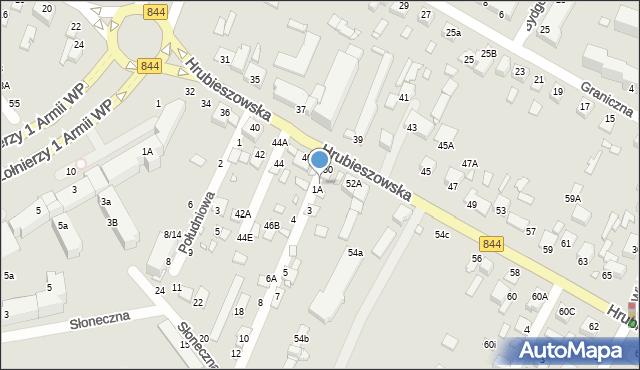 Chełm, Pogodna, 1, mapa Chełma