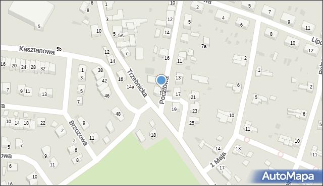 Chocianów, Pocztowa, 18, mapa Chocianów