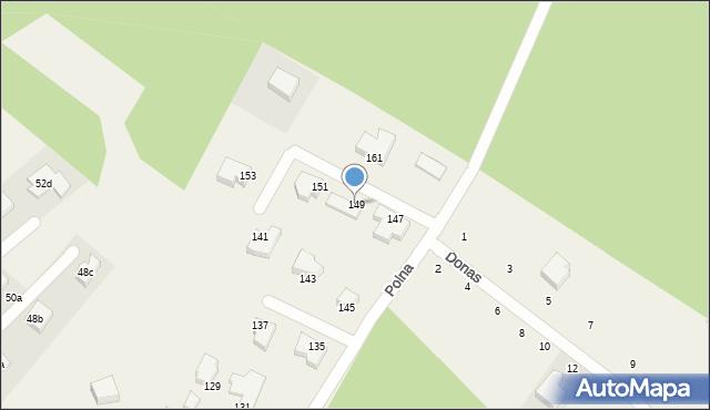 Chwaszczyno, Polna, 149, mapa Chwaszczyno
