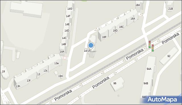Gdańsk, Pomorska, 15B, mapa Gdańska