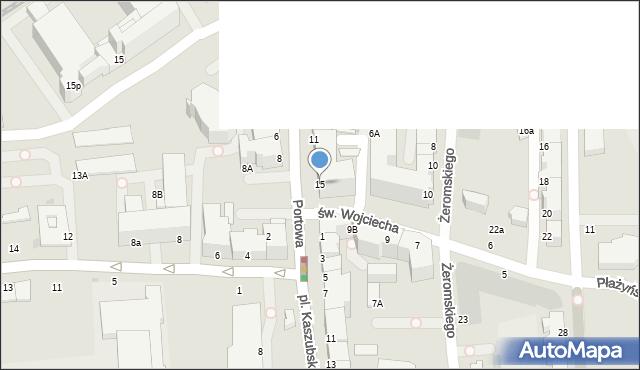 Gdynia, Portowa, 15, mapa Gdyni