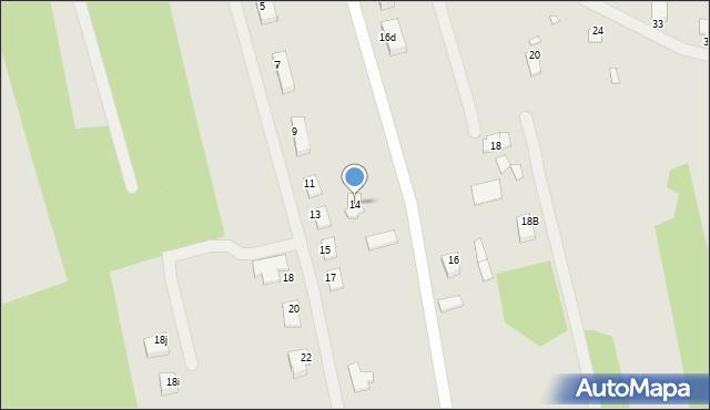 Grudziądz, Powojowa, 14, mapa Grudziądza