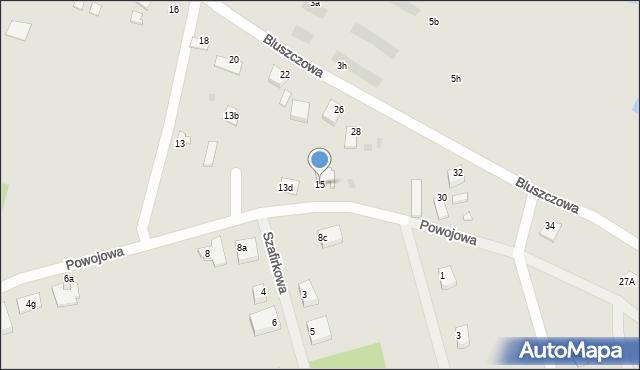 Grudziądz, Powojowa, 15, mapa Grudziądza