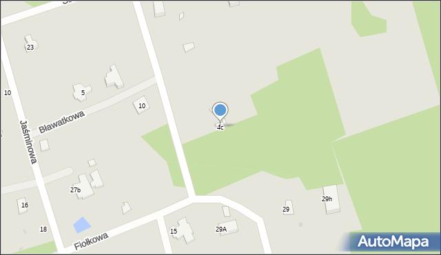 Grudziądz, Powojowa, 4c, mapa Grudziądza