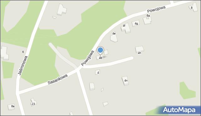 Grudziądz, Powojowa, 4d, mapa Grudziądza