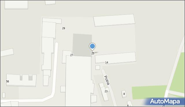 Jedwabne, Polna, 25, mapa Jedwabne