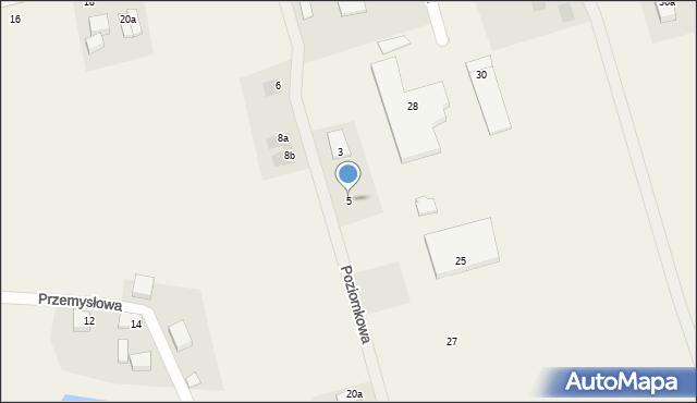 Kochanowo, Poziomkowa, 5, mapa Kochanowo