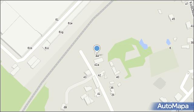 Mikołów, Porazińskiej Janiny, 44, mapa Mikołów