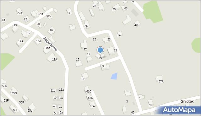 Mikołów, Poziomkowa, 19, mapa Mikołów