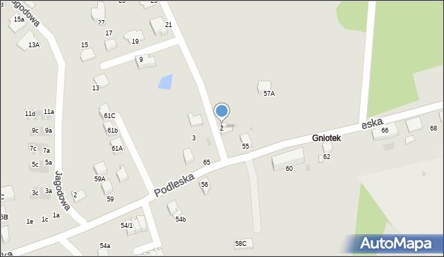 Mikołów, Poziomkowa, 2, mapa Mikołów