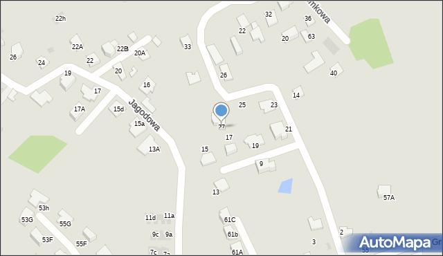 Mikołów, Poziomkowa, 27, mapa Mikołów