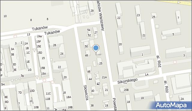 Piaseczno, Powstańców Warszawy, 29, mapa Piaseczno