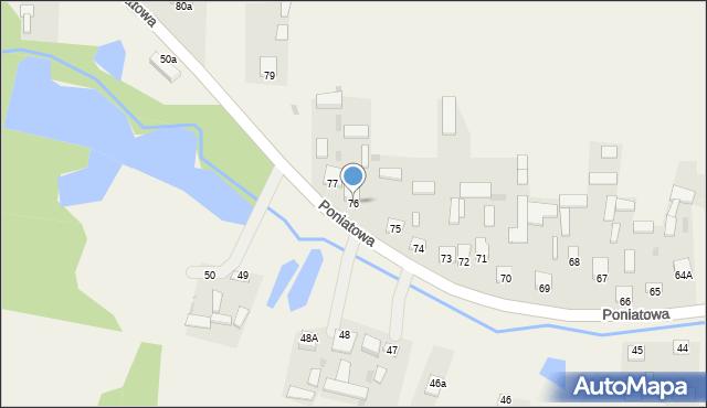Poniatowa, Poniatowa, 76, mapa Poniatowa