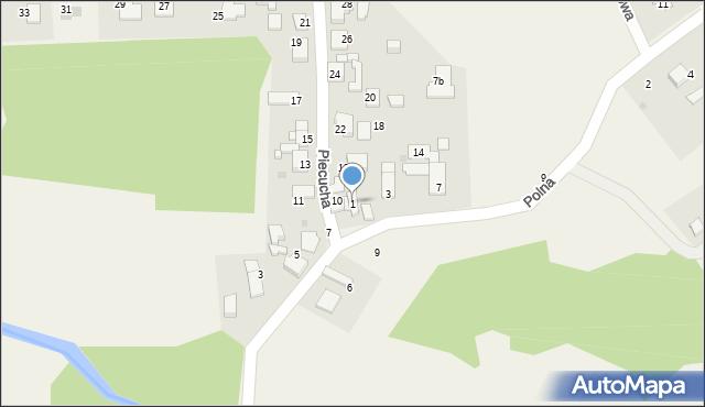 Potępa, Polna, 1, mapa Potępa