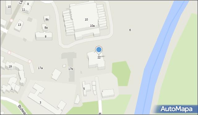 Rzeszów, Podpromie, 12, mapa Rzeszów