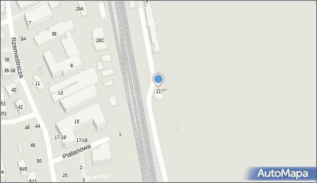 Sopot, Polna, 11, mapa Sopotu