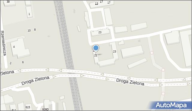 Sopot, Polna, 21, mapa Sopotu