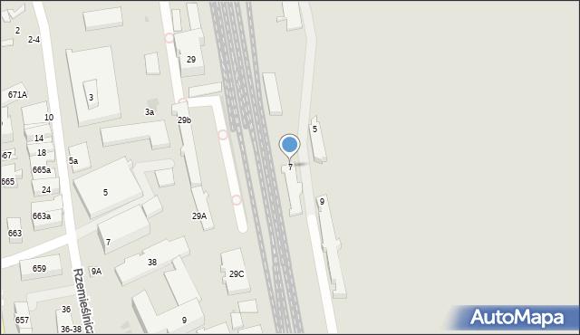 Sopot, Polna, 7, mapa Sopotu