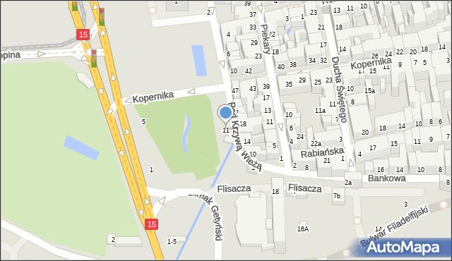 Toruń, Pod Krzywą Wieżą, 11, mapa Torunia