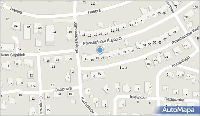 Toruń, Powstańców Wielkopolskich, 21, mapa Torunia