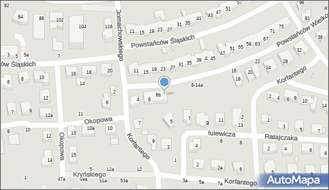 Toruń, Powstańców Wielkopolskich, 6c, mapa Torunia