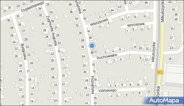Zabrze, Poznańska, 35, mapa Zabrza