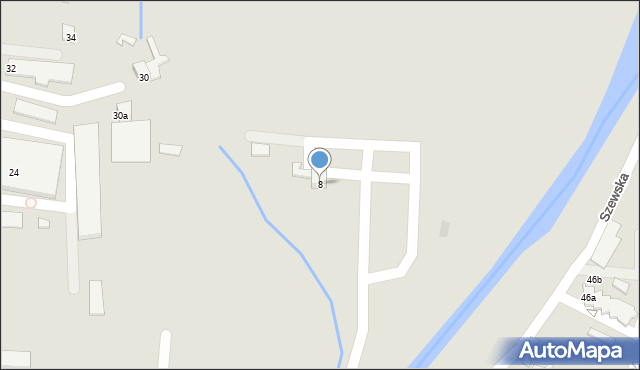 Andrychów, Przemysłowa, 8, mapa Andrychów