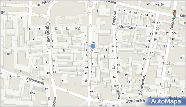 Częstochowa, Przesmyk, 1, mapa Częstochowy