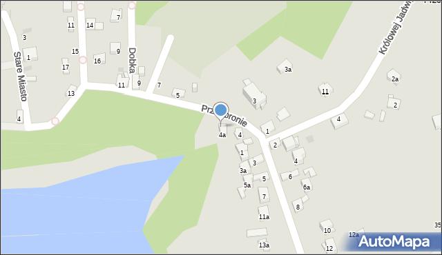 Dobczyce, Przedbronie, 6, mapa Dobczyce