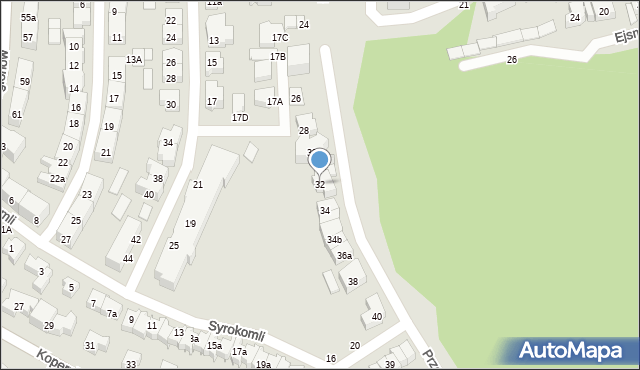 Gdynia, Przerwy-Tetmajera Kazimierza, 32, mapa Gdyni