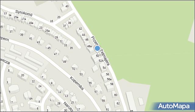 Gdynia, Przerwy-Tetmajera Kazimierza, 52, mapa Gdyni