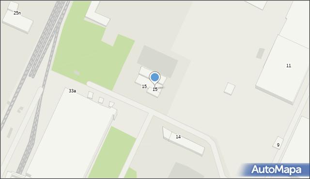 Gorlice, Przemysłowa, 15, mapa Gorlic