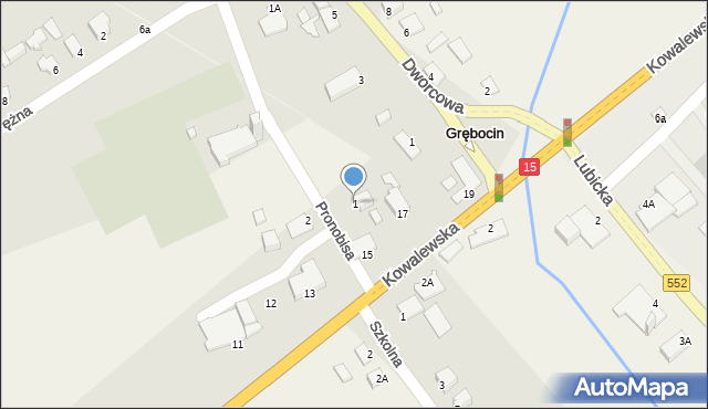 Grębocin, Pronobisa Jana, ks., 1, mapa Grębocin
