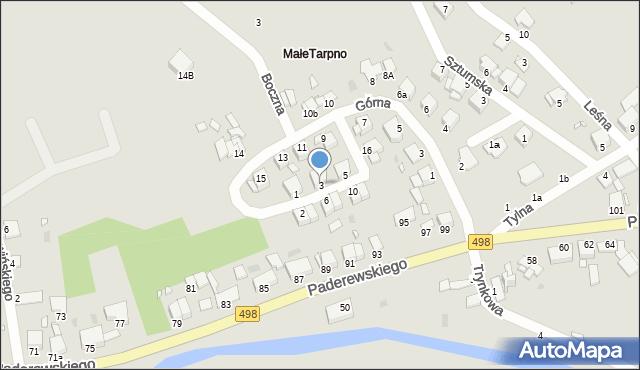 Grudziądz, Przednia, 3, mapa Grudziądza