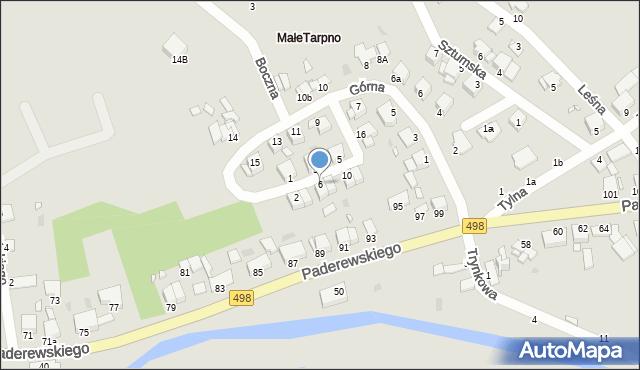 Grudziądz, Przednia, 6, mapa Grudziądza