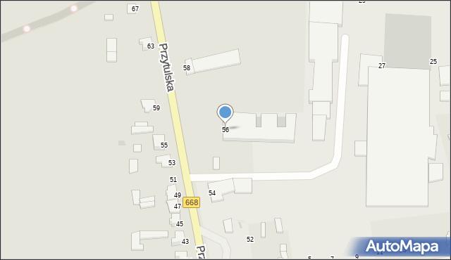 Jedwabne, Przytulska, 56, mapa Jedwabne
