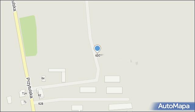 Jedwabne, Przytulska, 62C, mapa Jedwabne