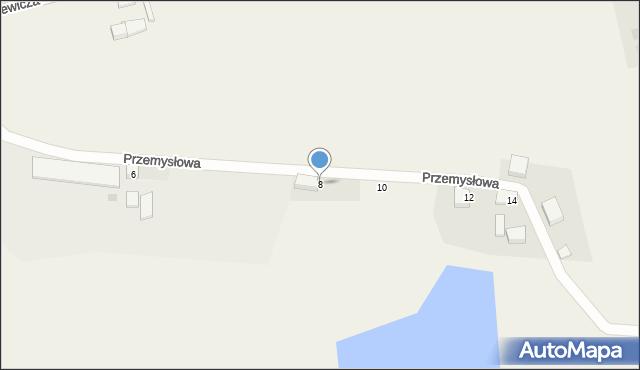 Kochanowo, Przemysłowa, 8, mapa Kochanowo