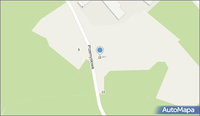Luzino, Przemysłowa, 11, mapa Luzino